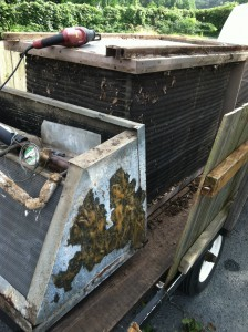 OLD NEVINS HVAC UNIT  1969 to 2013 photo